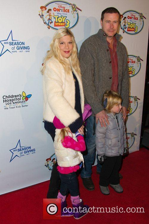 Tori Spelling and Dean McDermott   Disney...