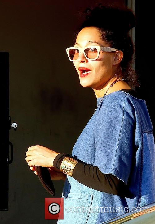 Tracee Ellis Ross Tracee Ellis Ross leaving Barneys...