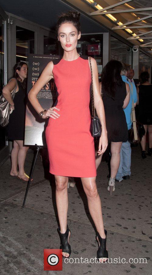 Nicole Trunfio The Cinema Society With Rachel Roy...