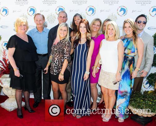 Cassadee Pope; family members Trump Invitational Grand Prix...