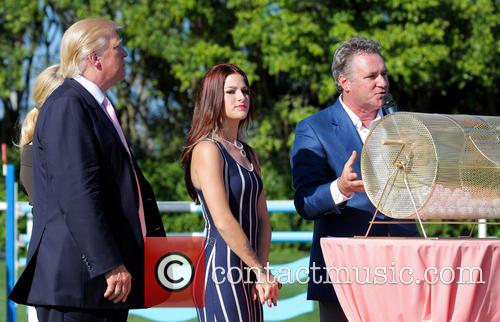 Donald Trump, Cassadee Pope and Mark Bellissimo 10