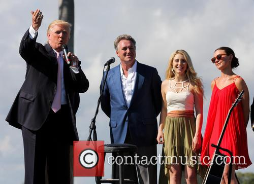 Donald Trump, Mark Bellissimo, Paige Bellissimo and Georgina Bloomb 4