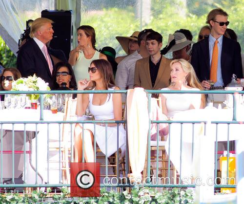 Donald Trump, Melania Trump and Ivanka Trump 6