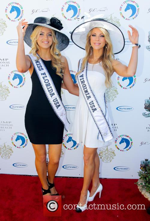 Miss Florida USA Karina Brez; Miss Virginia USA...