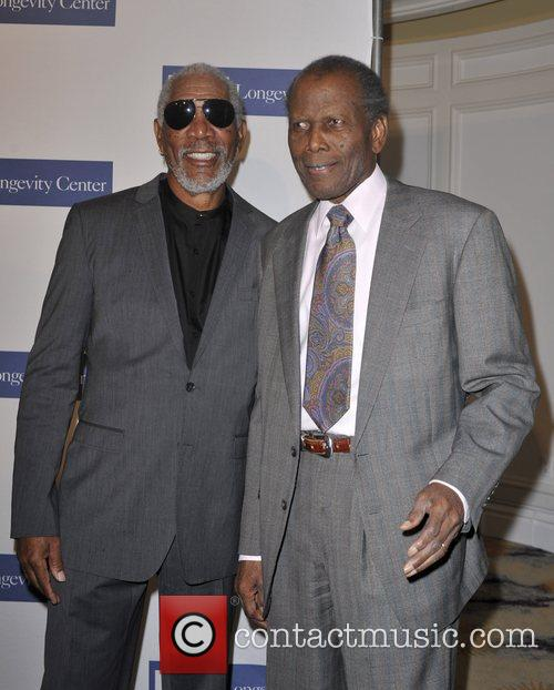 Morgan Freeman and Sidney Poitier 2