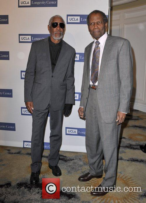 Morgan Freeman and Sidney Poitier 1