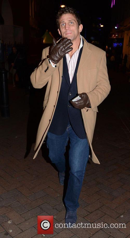 Alex Reid Celebrities attend the UK Premiere of...