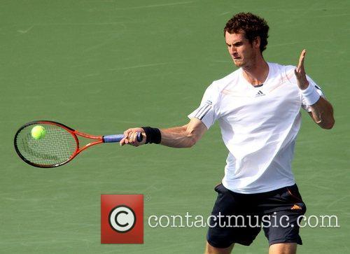 Andy Murray (SCO) in action U.S. Open 2012...