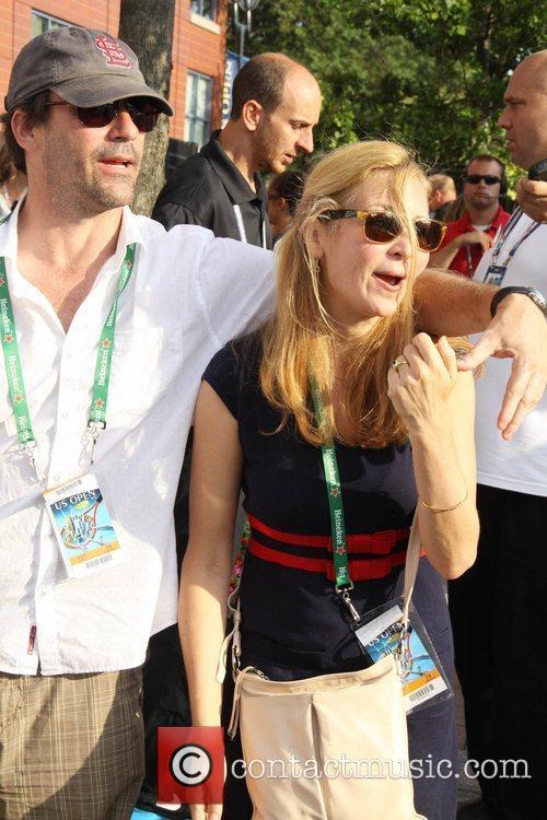Jon Hamm and Jennifer Westfeldt 3