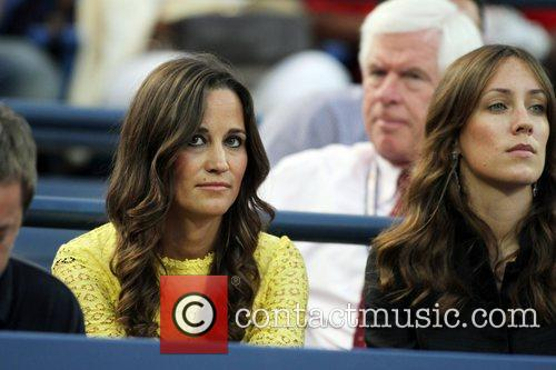 Pippa MIddleton in the crowd at Day Ten...