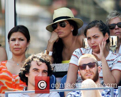 Eva Longoria US Open 2012 Womens Match -...