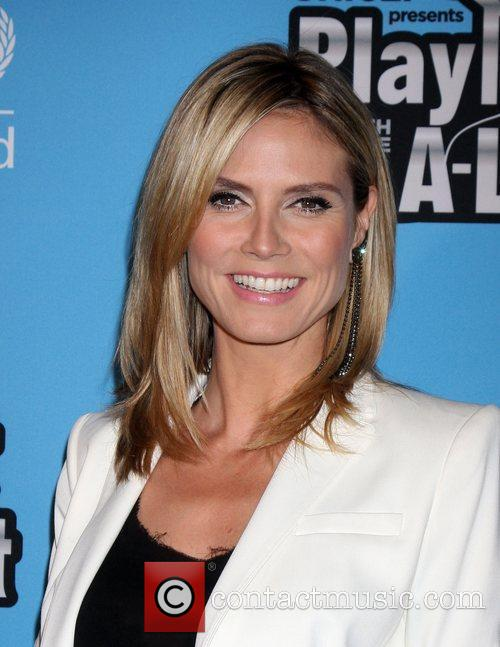 Heidi Klum and El Rey Theatre 3