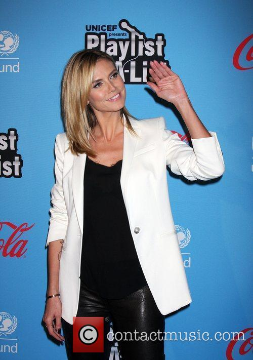 Heidi Klum and El Rey Theatre 5