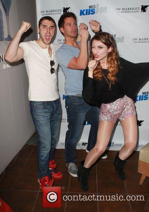Amy Heidemannand and Nick Noonan of Karmin and...