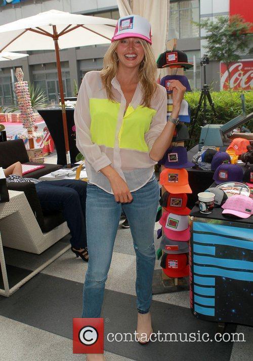 Estella Warren  102.7 FM/ KIIS FM 2012...