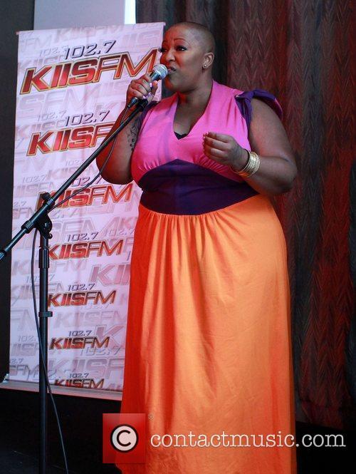 Frenchie Davis  102.7 FM/ KIIS FM 2012...