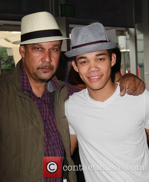 Roshan Fegan with his father  102.7 FM/...