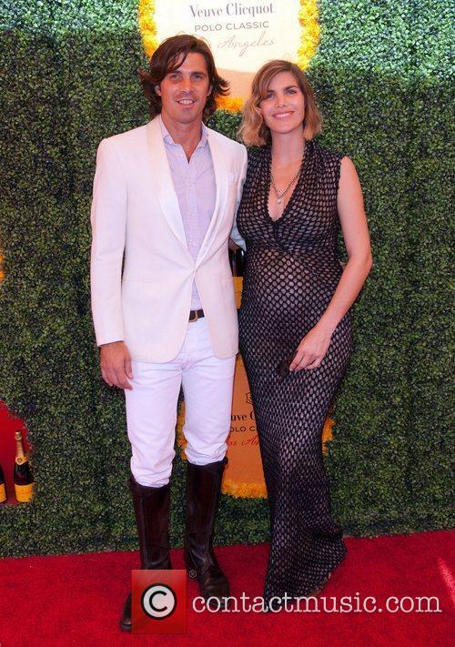 Naco Figueras and wife Delfina Blaquier  Third...