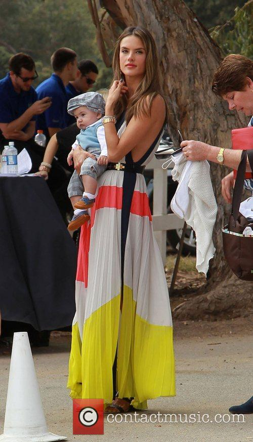 Alessandra Ambrosio, Noah and Daughter Anja 2