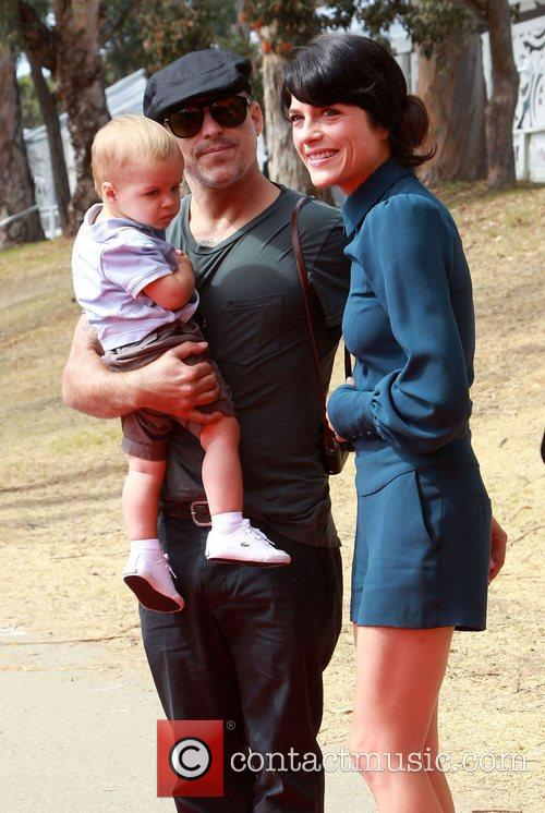 Jason Bleick and Selma Blair 1
