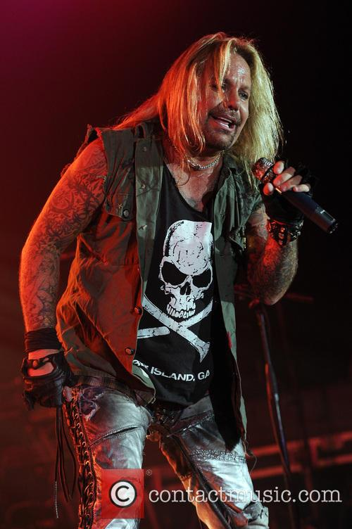 Vince Neil Vince Neil performs performing live at...