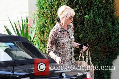 Vivien Houghton arrives at her daughter, Chantelle Houghton's...