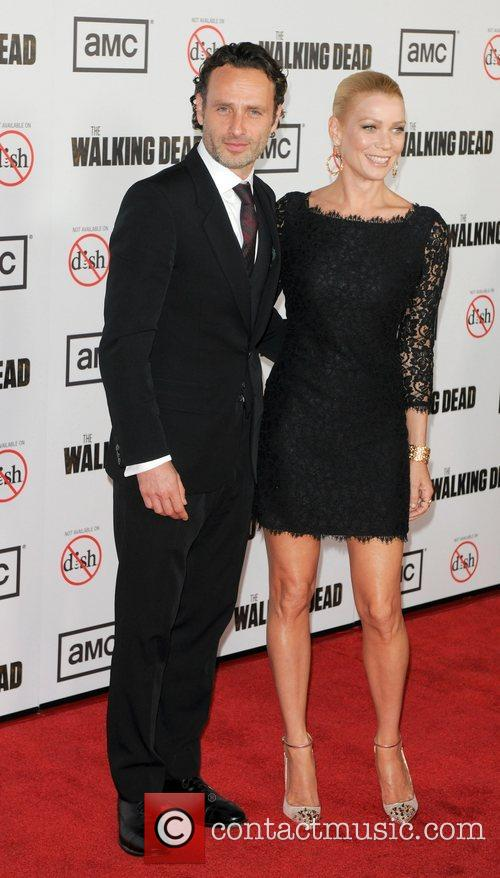 Andrew Lincoln and Laurie Holden