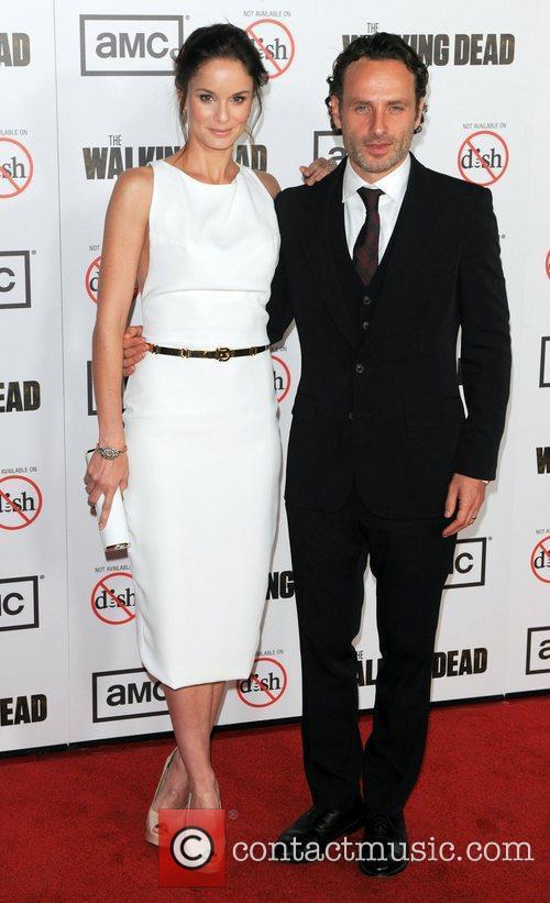 Sarah Wayne Calies and Andrew Lincoln 1