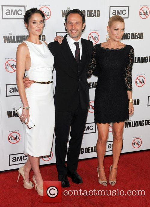 Sarah Wayne Calies, Andrew Lincoln and Laurie Holden 2