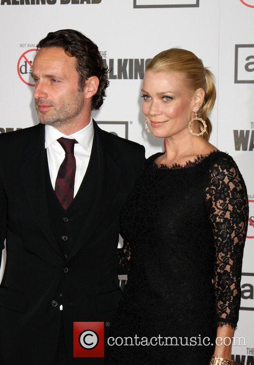 Andrew Lincoln and Laurie Holden 5