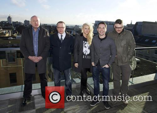 Martin Compston, Stephen Mccole, Laura Mcmonagle, Ray Burdis and Paul Ferris 2