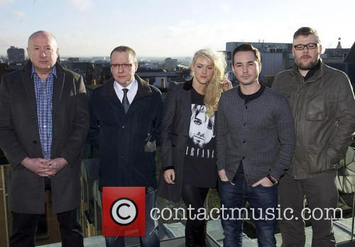 Martin Compston, Stephen McCole, Laura McMonagle, Ray Burdis, Paul Ferris
