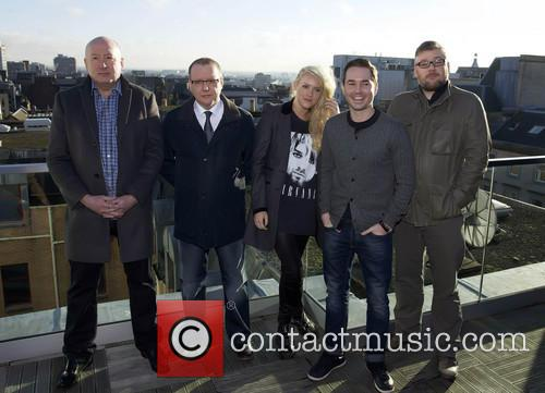 Martin Compston, Stephen Mccole, Laura Mcmonagle, Ray Burdis and Paul Ferris 4