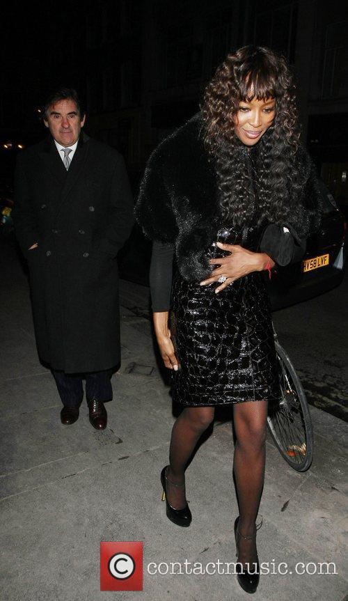 Naomi Campbell and Bafta 2