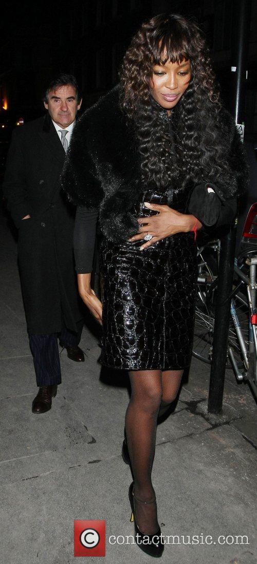 Naomi Campbell and Bafta 5