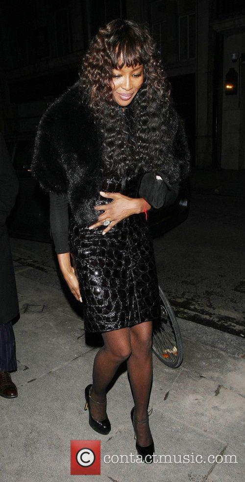 Naomi Campbell and Bafta 6