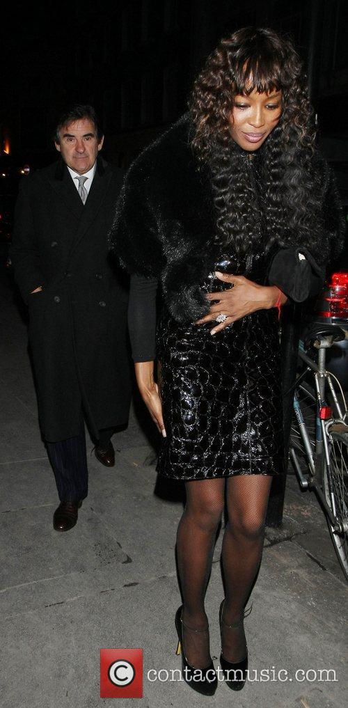 Naomi Campbell and Bafta 1