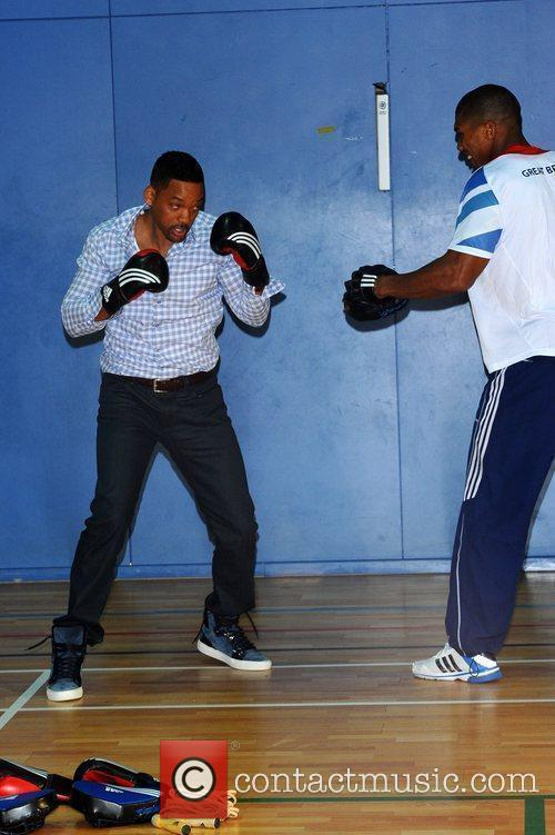 Will Smith & Anthony Joshua attend a Men...