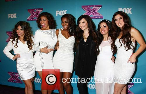 Fifth Harmony; with Demi Lovato The 'X Factor'...