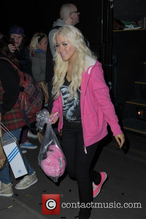 Amelia Lilly returns to her hotel after the...