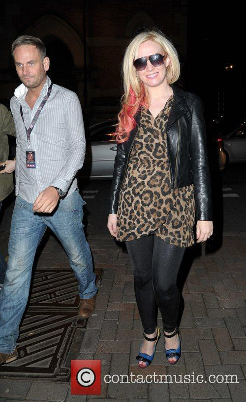 Kitty Brucknell spends the evening in Manchester Gay...