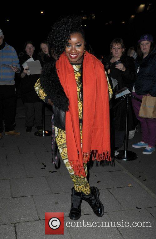 Misha B returns to her hotel after the...