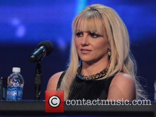 Britney Spears and X Factor 7