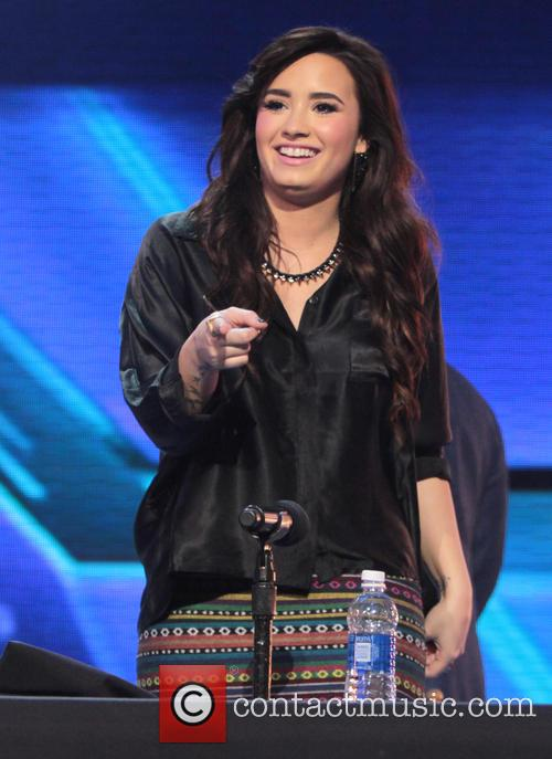 Demi Lovato and X Factor 2