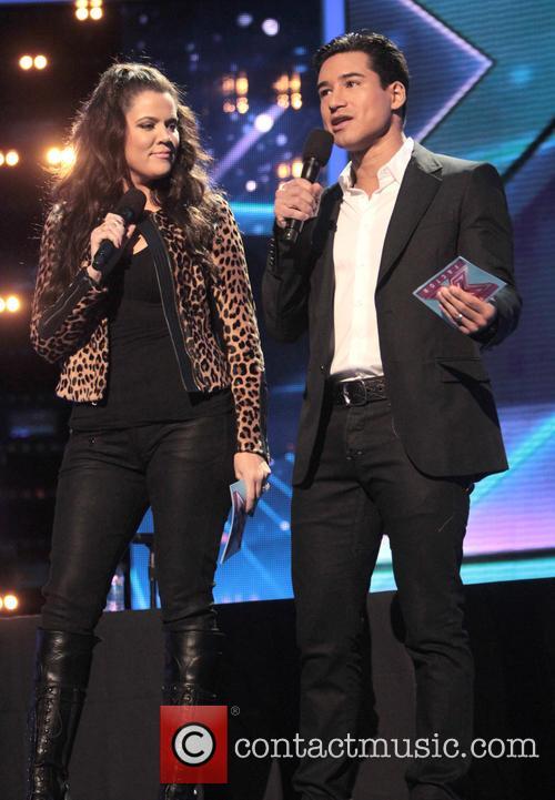 Khloe Kardashian, Mario Lopez and X Factor 4