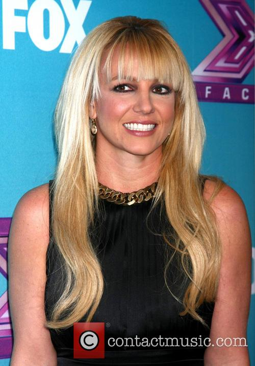 Britney Spears and X Factor 10