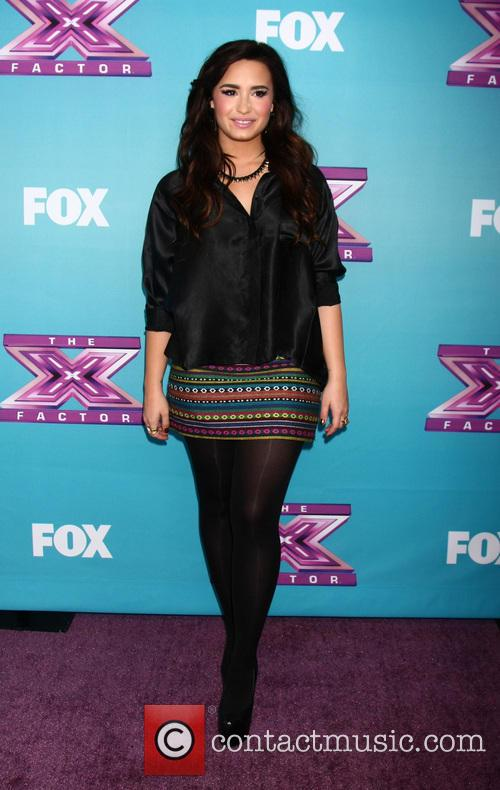 Demi Lovato and X Factor 1