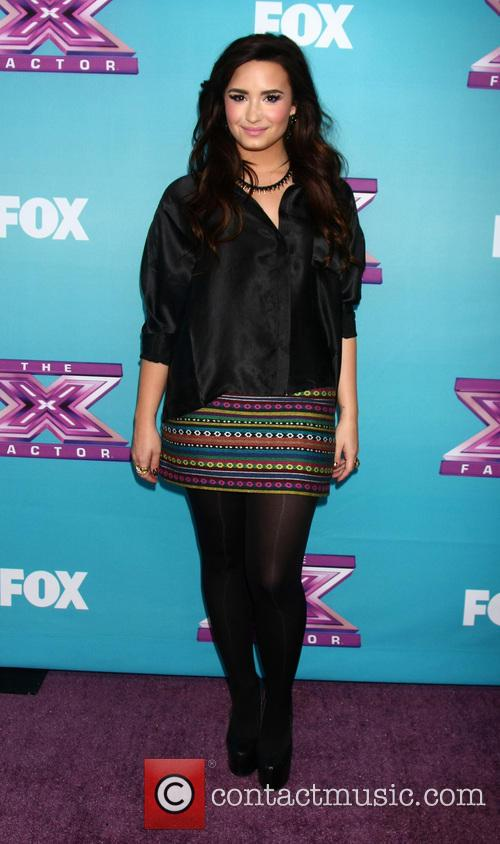 Demi Lovato and X Factor 9