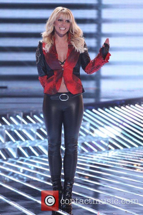 Britney Spears and The X Factor 2