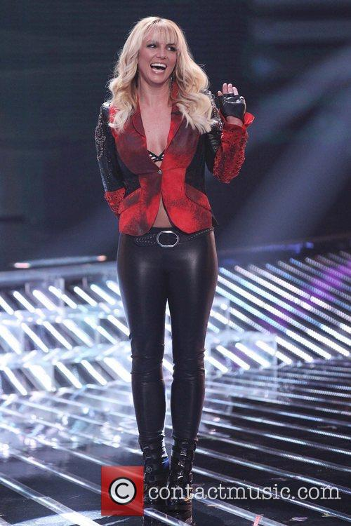 Britney Spears and The X Factor 4